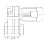 Цилиндрические мотор-редукторы серии F/FA/FAF/FF