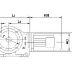 Цилиндро-конические мотор-редукторы серии К/KA/KAF/KF