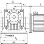Мотор-редукторы червячные одноступенчатые. МЧ(МРЧ)