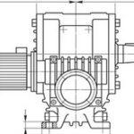 Мотор-редукторы червячные двухступенчатые МЧ2
